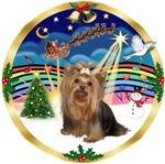 CHRISTMAS MUSIC (#3)<br>& Yorkie #7