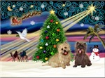 CHRISTMAS MAGIC<br>& 2 Cairn Terriers