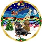 CHRISTMAS MUSIC #3<br>& 2 Dachshunds