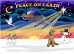 CHRISTMAS SUNRISE<br>& Lakeland Terrier
