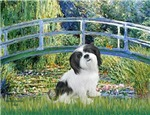 LILY POND BRIDGE<br>&Lhasa Apso #2
