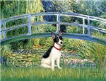 LILY POND BRIDGE<br>& Rat Terrier
