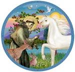White Arabian Horse in<br>