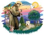 St. Francis #2 &<br>Wheaten Terrier (#1)