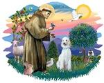 St. Francis #2 &<br>Standard Poodle (H)