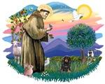 St. Francis #2 &<br>Dachshund (LH-BT)