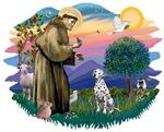 St. Francis #2 &<br> Dalmatian