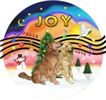 CHRISTMAS MUSIC #2<br>Two Goldens