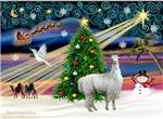 Christmas Magic & Llama