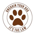Unchain Your Dog It's The Law (Brown)