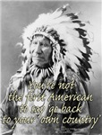 You're not the first American to say 'go back to y