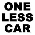 ONE LESS CAR SLOGAN