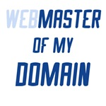 Web Master of My Domain T-shirts