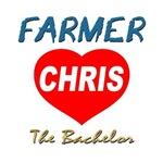 Farmer Chris The Bachelor Tees, Totes, Mugs