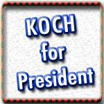 Elect Koch T-shirts & Political Gear