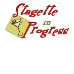Stagette in Progress T-shirts, Apparel, Favors