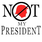 Not My President T-shirts, Buttons, swag