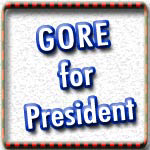 2008 Election Al Gore T-shirts, Totes, Buttons