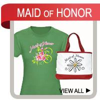 Maid of Honor T-shirts and Gifts