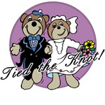 Beary Cute Tied the Knot T-shirts and Gifts