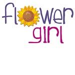 Sunflower Flower Girl T-shirts & Gifts