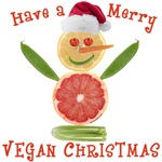Vegan Snowman T-shirts and Gifts