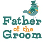 Father of the Groom Wedding T-shirts