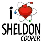 I Love Sheldon Cooper T-shirts and Swag