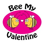 Bee My Valentine T-shirts, Jewelry and Gifts