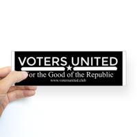 Voters United Buttons & Stickers