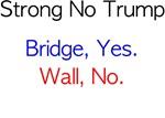 Bridge, Yes. Wall, No.  No bars, closer type.