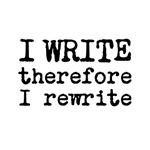 I Write Therefore I Rewrite