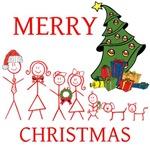 OYOOS Merry Christmas Family design