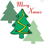 OYOOS Merry Xmas Trees design