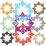 OYOOS Snow Flakes design