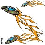 OYOOS Kids Spaceships design