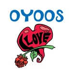 OYOOS Kids Love Heart Flower design
