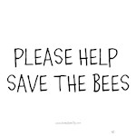 Please Help Save the Bees