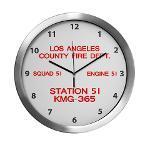KMG365 Station 51 Wall Clocks