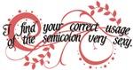 Sexy Semicolon