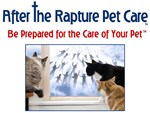 After The Rapture Pet Care Cats at Window Rapture