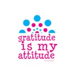 Gratitude Is My Attitude Pink/Blue