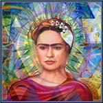 Cubist Frida - Aura