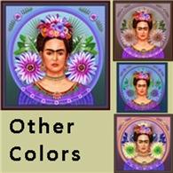 Frida with 2 Large Flowers