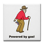 Powered by Gas