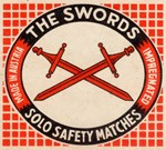 Vintage Swords Matchbox Logo
