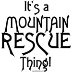 It's a Mountain Rescue Thing