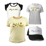<b>PsychoChic Tees & T-shirt Gift Ideas</b>