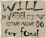 Homeless History Major Sign