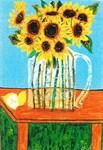 Sunflowers & Lemon